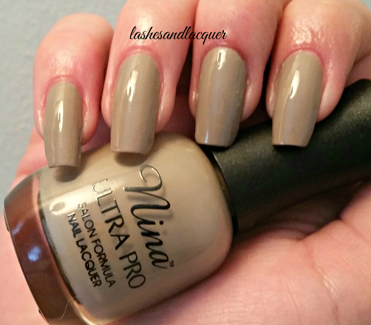 POLISH I LOVE: NINA ULTRA PRO \'BEIGE-A VU\' | LASHES AND LACQUER